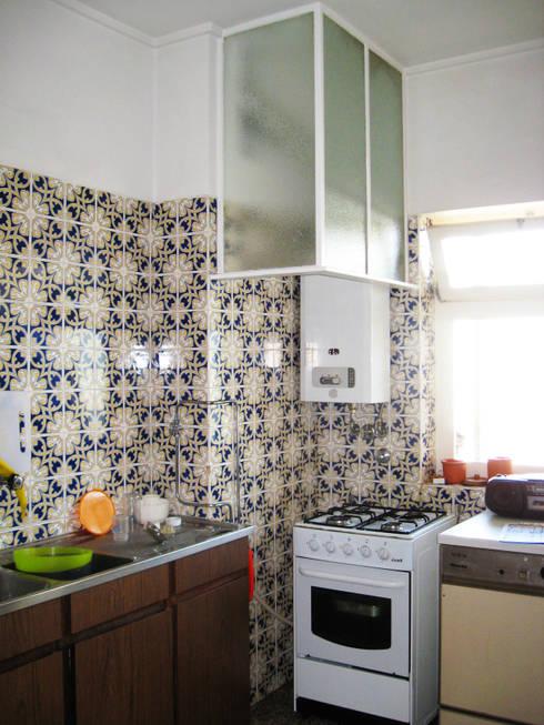 Situação Existente, Cozinha:   por SAMF Arquitectos
