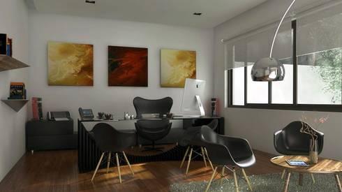 Casa Pachuca A-1: Estudio de estilo  por CELE disseny