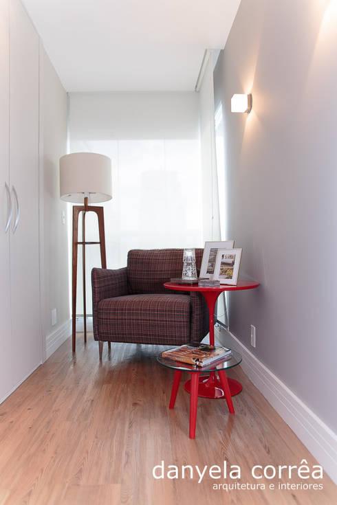 Apartamento: Quartos  por Danyela Corrêa