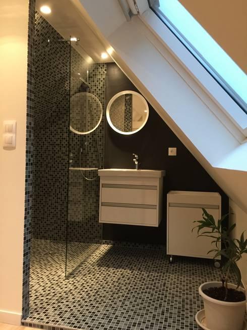 Baños de estilo  por Expression d'Intérieurs