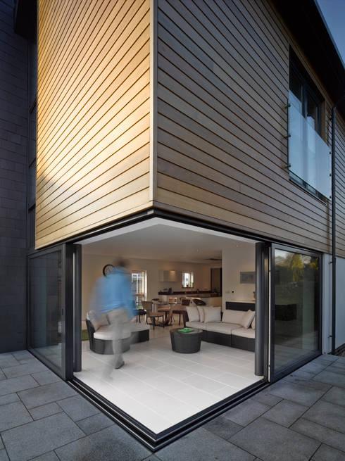 Projekty,  Taras zaprojektowane przez ID Architecture