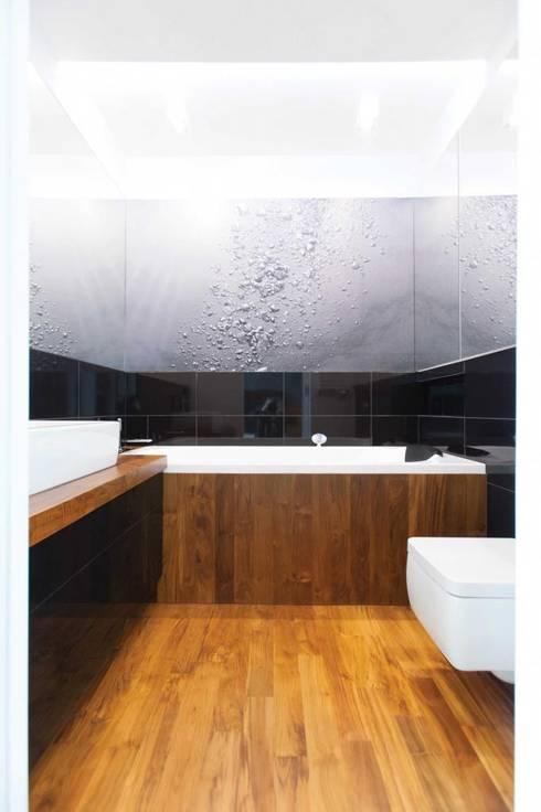 Realizacja 9 : styl , w kategorii Łazienka zaprojektowany przez MGN Pracownia Architektoniczna