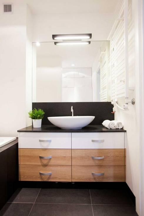 Realizacja 6: styl , w kategorii Łazienka zaprojektowany przez MGN Pracownia Architektoniczna