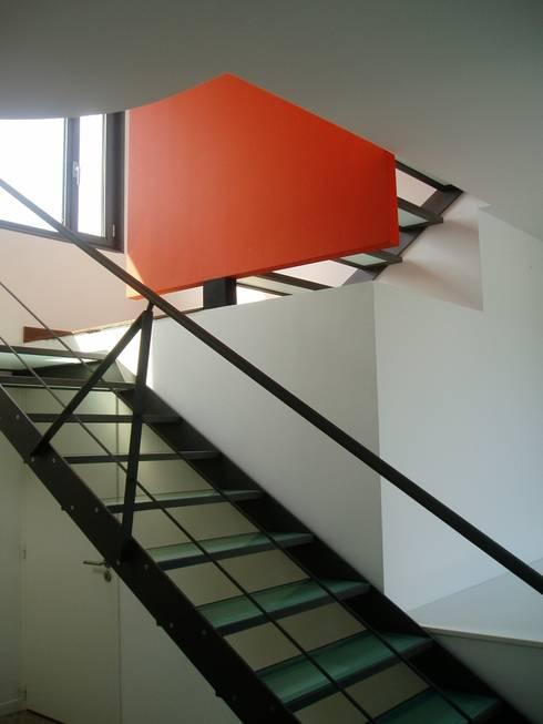 Maison à Malzéville: Maisons de style de style Moderne par MHA ARCHITECTURE
