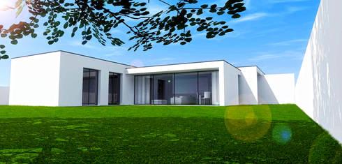 ARIUS_MT2: Casas modernas por LUÍS ALMEIDA ARQUITECTO