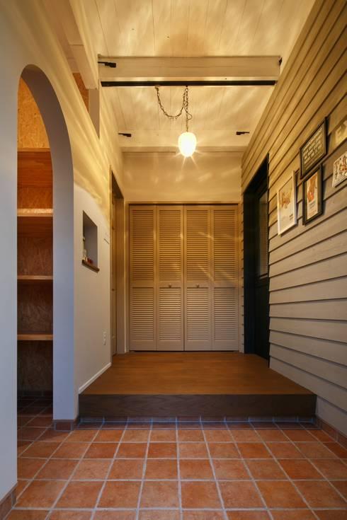 I's HOUSE: dwarfが手掛けた廊下 & 玄関です。