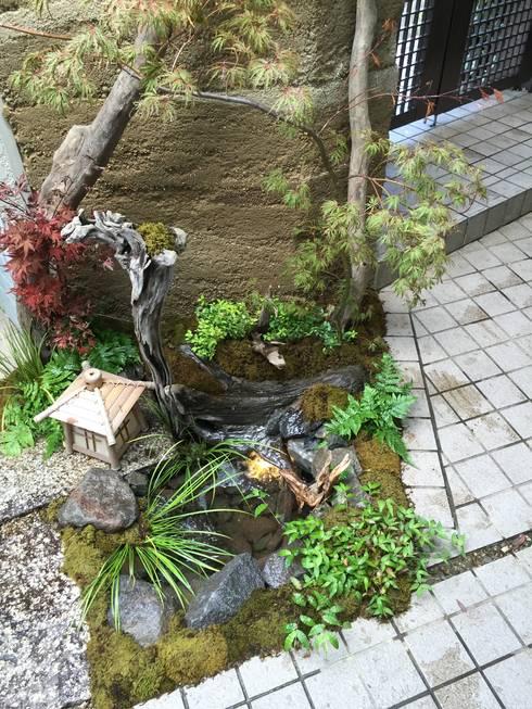 門柱リガーデン: 株式会社 髙橋造園土木  Takahashi Landscape Construction.Co.,Ltdが手掛けたです。