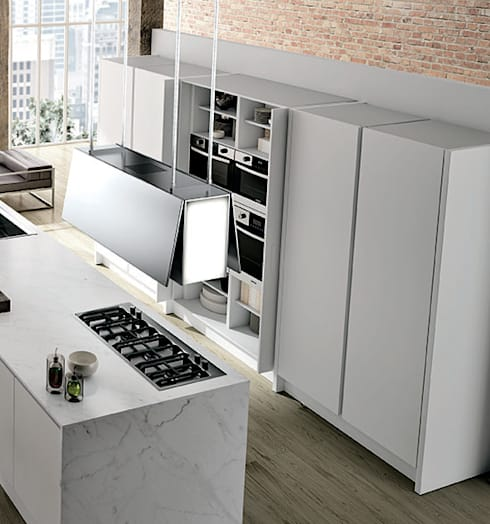Italian Kitchens : modern Kitchen by Woodville