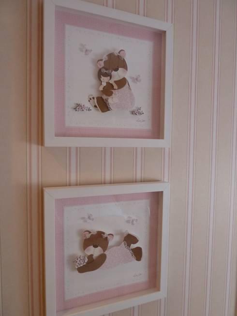 Quarto de bebê: Quarto infantil  por Ana Donadio Arquitetura