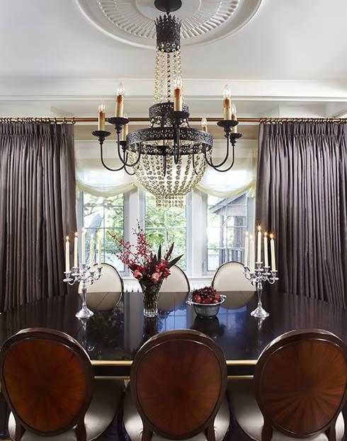 Maison Victorienne: Salle à manger de style  par ANNA DUVAL