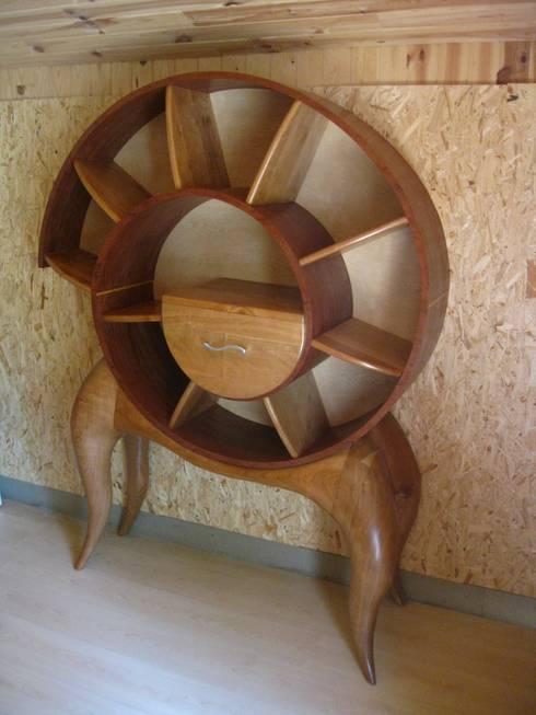 Bibliothèque Spirale: Art de style  par Pierre SUBRIN ébéniste