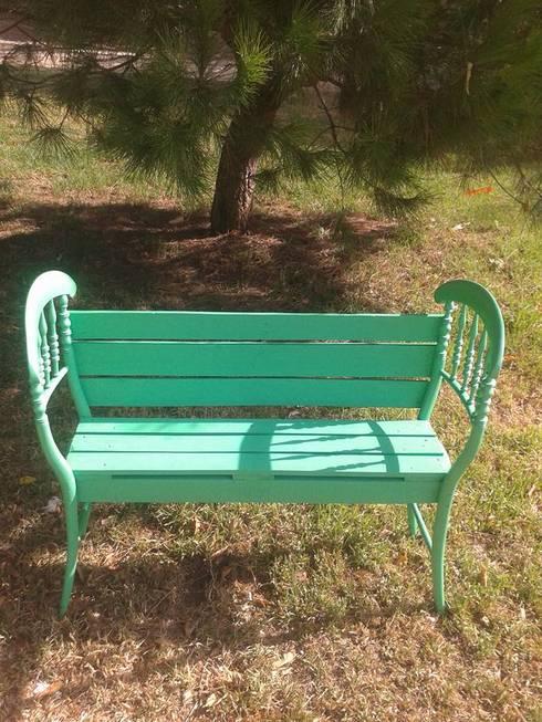 Cadeira de jardim - restaurada:   por Paulo Broughton