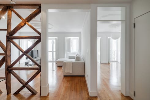 Apartamento São Caetano: Salas de estar minimalistas por Vanessa Santos Silva   Arquiteta