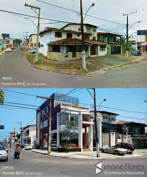 Antes e Depois:   por Simone Flores Arquitetos & Associados
