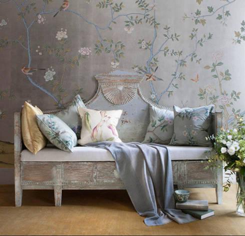 Floreciendo y despertando: Salas de estilo rústico por Flor de Limonero