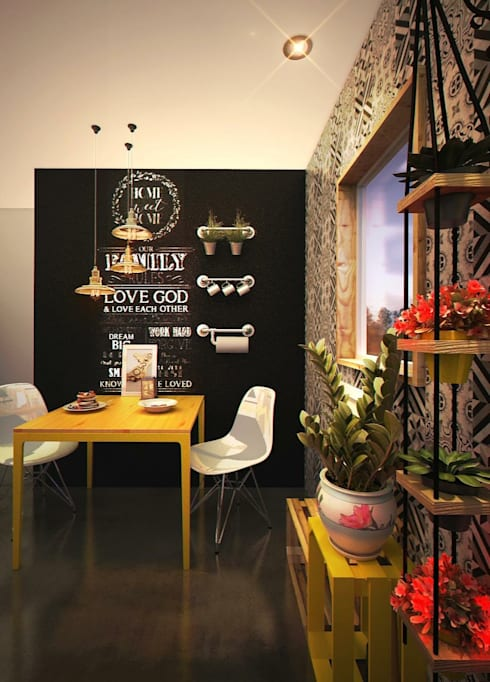 Кухня в . Автор – Rotoarquitectura