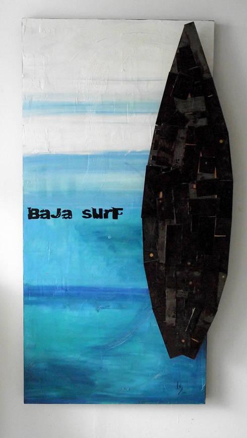Arte Contemporaneo: Hogar de estilo  por Galeria Ivan Guaderrama