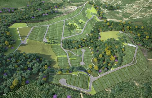 projeto: Casas modernas por Myr Projetos Sustentáveis