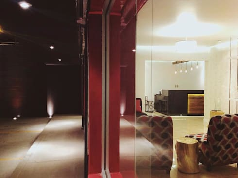 Florería Glady's: Oficinas y tiendas de estilo  por Rotoarquitectura
