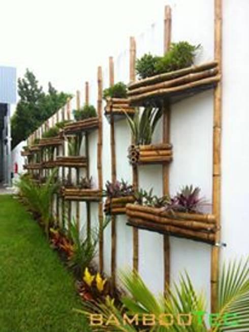 Jardines de estilo  por Bambootec