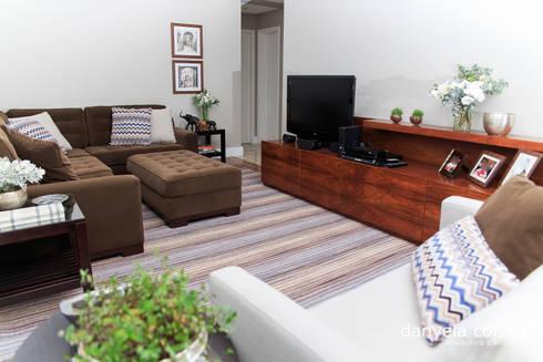 Projeto: Salas de estar modernas por Danyela Corrêa