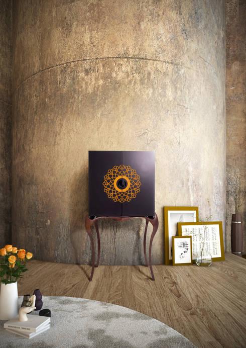 NAPERON: Sala de estar  por Alma de Luce