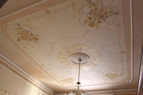 Soffitto cangiante di colori nel tempo decorazioni - Decorazioni soffitto ...