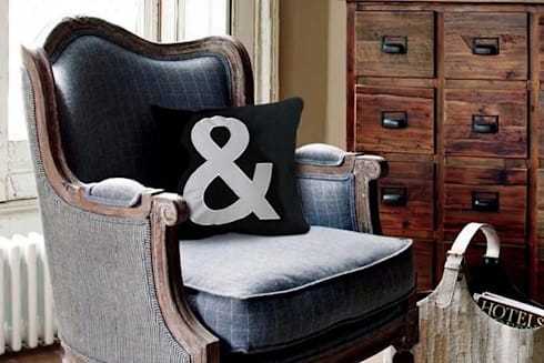 Cojines Decorativos: Hogar de estilo  por Punto&Casa