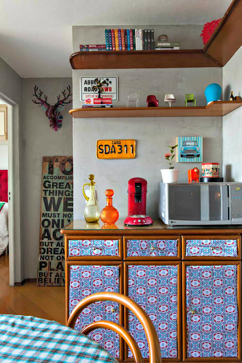 Living: Salas de jantar  por Ingrid Hirsch