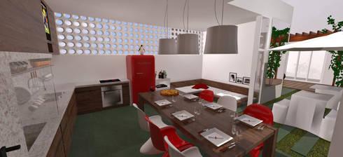 Área de Lazer: Spas modernos por Cris Manzolli  Arquiteta