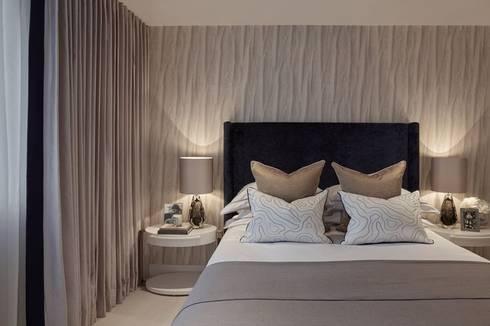 Interiors by Clients: Quartos ecléticos por Luisa peixoto Design