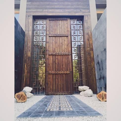 Project in Tulum, Riviera Maya: Casas de estilo moderno por JCandel