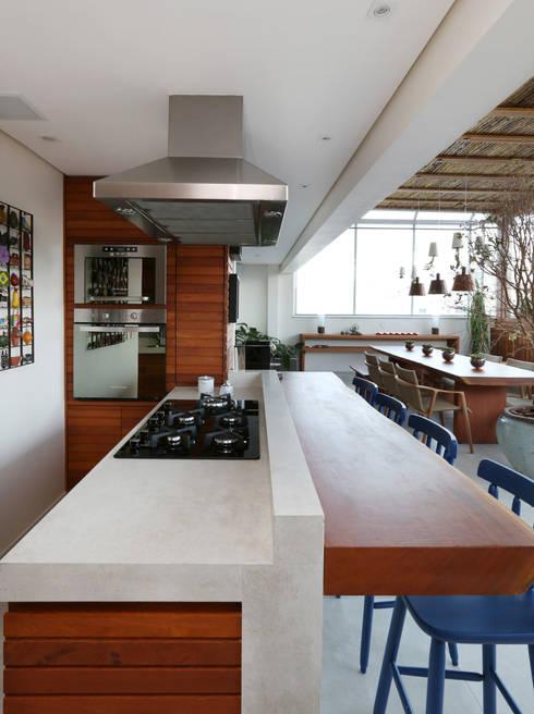 Cobertura VL: Cozinhas  por Studio Novak