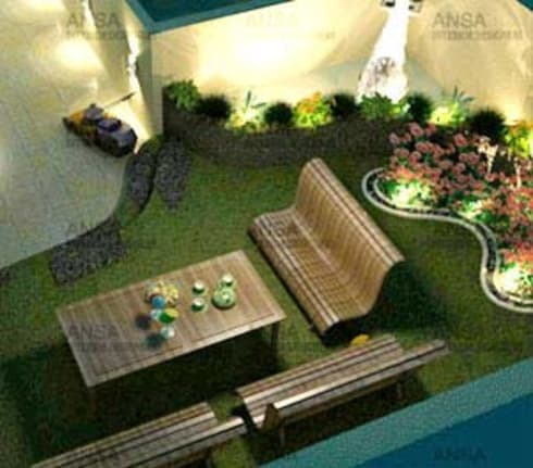 Residential:  Interior landscaping by ANSA Interiors