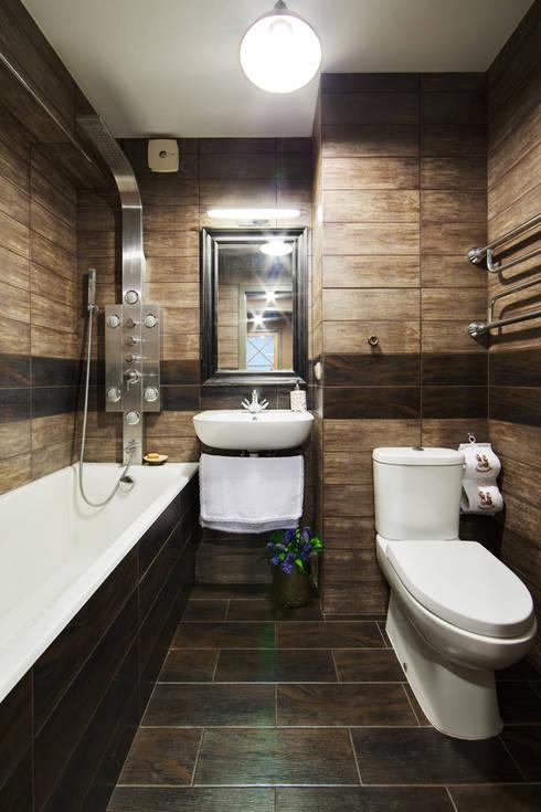rustic Bathroom by Порядок вещей - дизайн-бюро