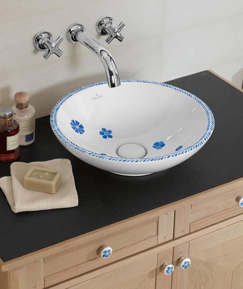 Muebles de baño de diseño y alta calidad: Baños de estilo rústico de Azulejos Peña s.l.
