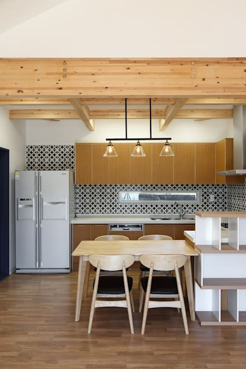 moderne Küche von woodsun