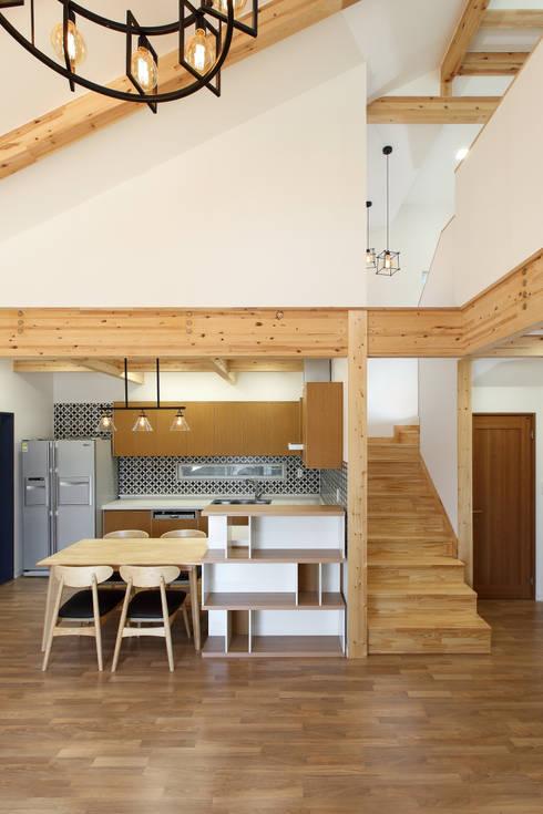 moderne Esszimmer von woodsun