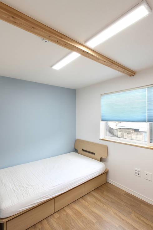 moderne Slaapkamer door woodsun