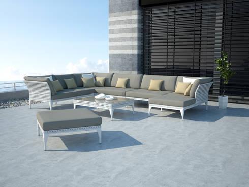 reef lounge von bloom outdoor m bel homify. Black Bedroom Furniture Sets. Home Design Ideas