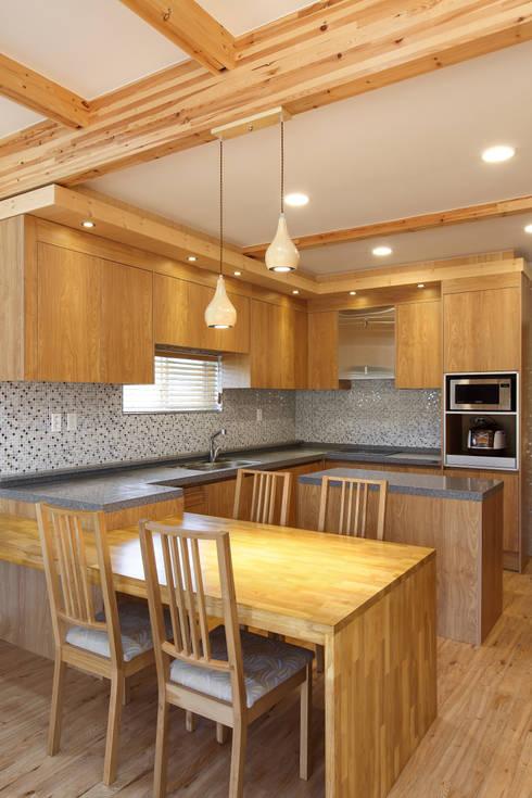 Salas de jantar modernas por woodsun