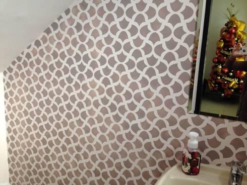Plantilla Decorativa: Baños de estilo  por VIVAinteriores