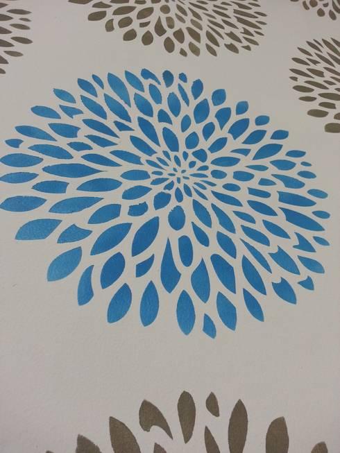 Plantilla Decorativa: Salas de estilo moderno por VIVAinteriores