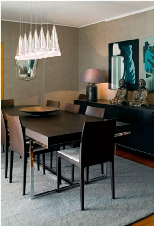 Sala de Jantar : Salas de jantar modernas por Andreia Marques Designer de Interiores