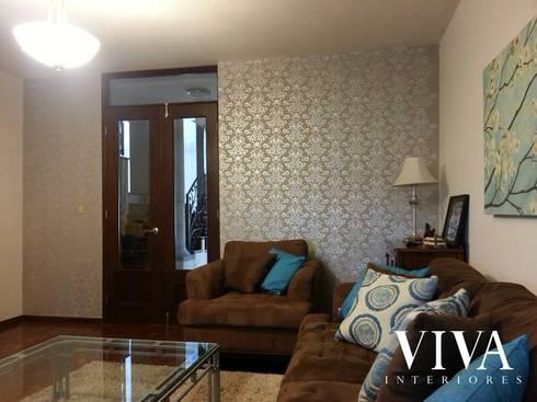 Amazonas 113: Salas de estilo moderno por VIVAinteriores
