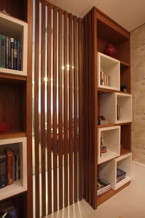 APARTAMENTO   VB: Escritórios  por AC Arquitetura + Design