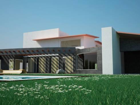 Proyectos y Espacios: Casas de estilo moderno por D&D Arquitectos