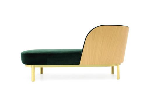 SERENE Chaise-Longue : Sala de estar  por PAULO S. ANTUNES UNIPESSOAL, LDA.