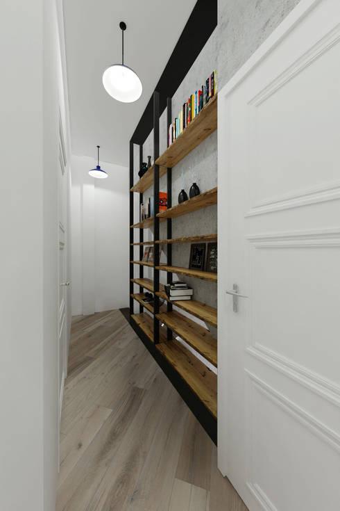 Pasillos y vestíbulos de estilo  de Loft&Home