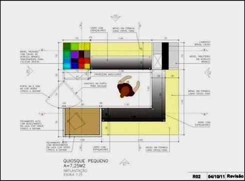 LOJAS CHOCOLATES BRASIL CACAU - LAYOUT 2:   por ACP ARQUITETURA